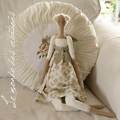 Beautiful tilda doll