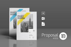 Business Proposal Template By Voryu On Creative Market  Brochure