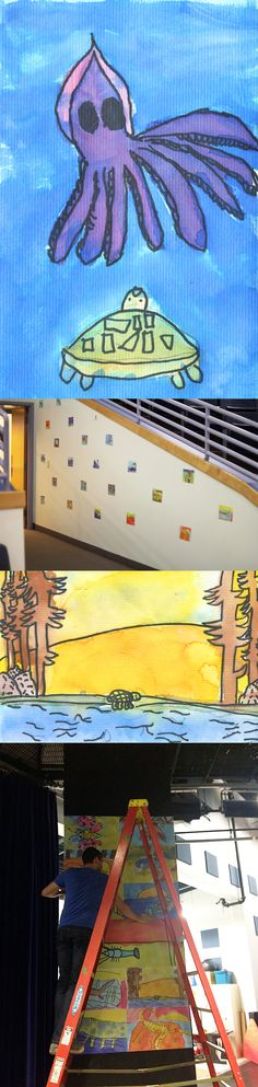 WALLS 360 created a custom collection of wall graphics for the Gilbert Magnet Elementary School for Communication & Creative Arts in Las Vegas – featuring the digitized artwork of some absolutely amazing young artists!   http://blog.walls360.com/custom-wall-graphics-for-gilbert-magnet-elementary-school-for-communication-creative-arts-in-las-vegas/