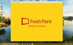 Fresh Paint: preliminary version is available for Windows 10