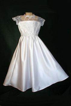 First Communion Dress by OriginalsbyMarianne on Etsy, $59.95