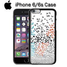 Twenty One Pilots Birds Apple iPhone 6/6S Black Enamel Case