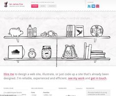 Using illustration and draws in web design