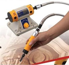 YiFun ® 220V Electric chisel Carving Tool Wood carving machine Woodworking chisel(Host +Chisel + shaft) It can only work with 220V power supply. Shell is solid ,excellent thermal efficiency , very …