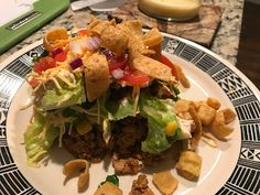Food and Wine by Jules: Make-Ahead Layered Taco Salad