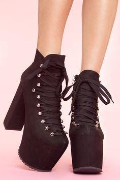 Hellbound Platform Boot  love