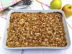 Apple Crisp Baked Oatmeal — The Fountain Avenue Kitchen