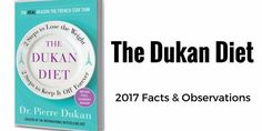 The Dukan Diet - 2017 Facts and Observations - Diets USA Magazine