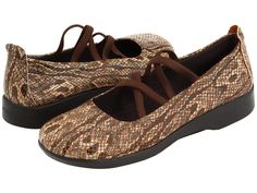 I almost wish I had a reason to need brown snakeskin shoes.