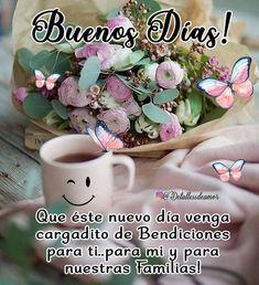 Good Morning, Mugs, Tableware, Happy Day, Buen Dia, Dinnerware, Bonjour, Tumblers, Tablewares