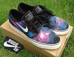 "Nike SB Stefan Janoski ""Galaxy"" Customs by biggie sb"