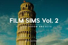 Film Sims Vol. 2 Lightroom Presets by @Graphicsauthor