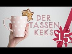 ▶ DIY Geschenkidee Tassenkeks  