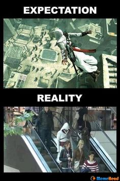 assassin's creed-experienced this on Halloween & had fellow Assassins