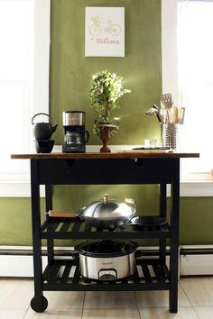 Ikea Forhoja Kitchen Cart Makeover