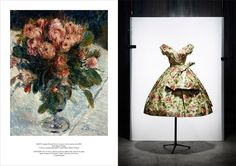 Impressionist paintings Inspire Dior.  Thanks to SmartCreativeWomen.com for the inspiration