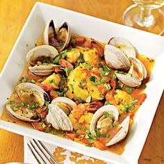 Shellfish with Chipotle AND Tequila.  Count me in!