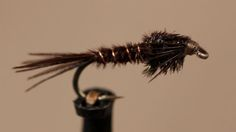 American Pheasant Tail Nymph by Tightline Productions. Detailed instructions for tying an American Pheasant Tail Nymph.