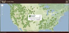 Posted on the Boondocking Group | RV Happy Hour National Forest Interactive Map