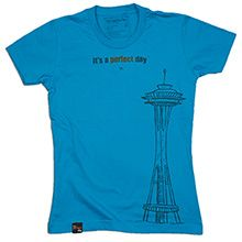 Seattle Tee by It's a Perfect Day