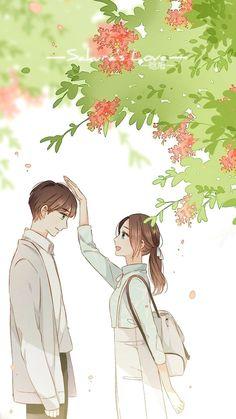 Anime Girls, Anime Art Girl, Manga Art, Manga Anime, Manga Couple, Anime Love Couple, Cute Anime Couples, Style Anime, Bts Art