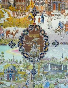 Four seasons, carpet museum Tehran