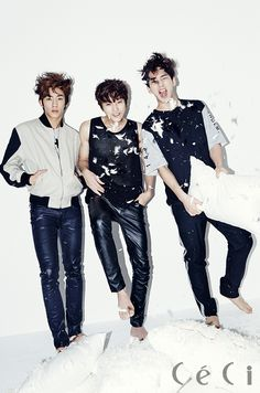 Gong Chan, Jin Young, Baro - Ceci Magazine April Issue '14