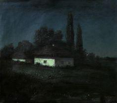 Arkhip Kuindzhi - Moonlit night