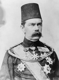 Lord Kitchener as Sirdar , 1892 - 1898 [[MORE]] taken from the Imperial War Museums collections Lord Kitchener of Khartoum, who led the Anglo-Egyptian army to victory against the Dervishes at Omdurman (with the last major British cavalry charge, in...