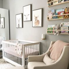 Gray Woodland Baby Nursery Project Neutral Nurseries