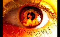 Kishan's burning eyes