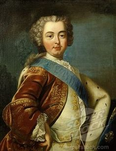 Louis XVI, as a young man.  Born in 1754, he became heir to the throne upon the death of his father, the dauphin of France, in 1765.
