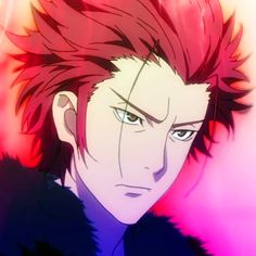 Mikoto suoh from k-project K Project Anime, Project Red, Red Hair Anime Guy, Anime Guys, Berserker Tattoo, Suoh Mikoto, Guy Drawing, Diabolik Lovers, Anime Sketch