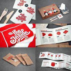 多个国外餐厅VI设计赏析集锦 - vi设计 - 包装设计网