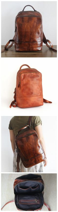 Best Bags, Student Gifts, Monogram Logo, Leather Craft, Leather Shoulder Bag, Leather Backpacks, Purses, Messenger Bags, Travel Backpack