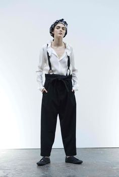 Y'S By Yohji Yamamoto Spring/Summer 2017 Ready-to-Wear Collection | British Vogue
