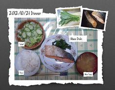 For Dinner on 21/Oct/2012