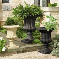 """ballard designs """"grecian urns"""".  perfect! i""""ll take two large ones to flank my front door. :)"""