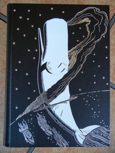 Moby Dick, Folio Society LE, Front Cover Detail
