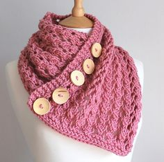 Cause I don't have enough scarfs.... But it's cute!