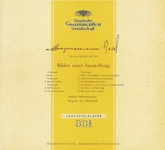 MUSSORGSKY Pict. at an Exhib. - Markevitch - Deutsche Grammophon