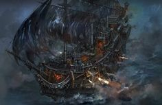 ArtStation - Pirates of Caribbean, Yuanda Yu