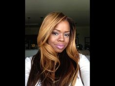 Bleaching Lace Closure and Extentions - Blondes and Brown