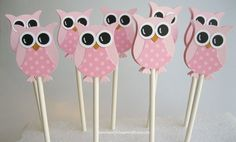 cake toppers owls