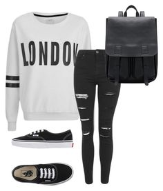 """""""Untitled #23"""" by nicoleaquilina on Polyvore featuring ONLY, Topshop and Vans"""