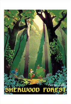 032 Vintage Movie Art Poster Robin Hood