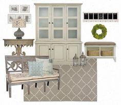 Neutral color scheme - dining room?