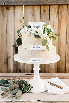 A gorgeous cheese wheel wedding cake is embellished with fresh flowers and succulents. Calligraphy tags label each cheese selection. Photo Credit: Studio / Style/Design: Kim Stoegbauer of The TomKat Studio and Real California Milk Wedding Catering, Wedding Menu, Dream Wedding, Wedding Notes, Yellow Wedding, Wedding Tables, Wedding Bells, Wedding Stuff, Wedding Cake Guide