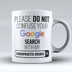 "Limited Edition - ""My Chiropractic Degree"" 11oz Mug"