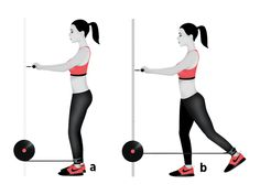 The Best Workout for a Toned, Tight Butt : Straight-Leg Hip Extension Single Leg Deadlift, Womens Health Magazine, Glute Bridge, Gym Routine, Stay In Shape, Keep Fit, Fun Workouts, Body Workouts, Glutes